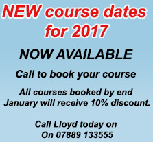 New 2017 course dates
