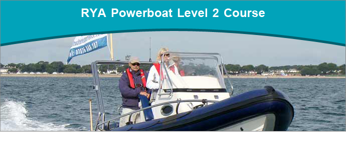 RYA Powerboat Level 2 Training course run by Saltwater RYA Powerboat Training Centre based in Christchurch, Dorset