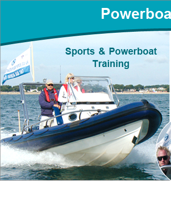 Powerboat Training at Saltwater RYA Powerboat Training Centre, Christchurch, Dorset