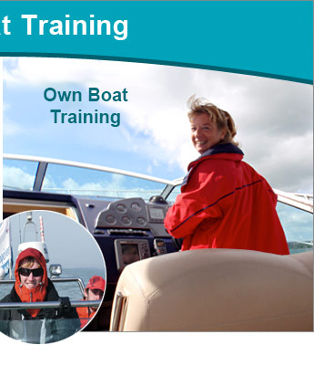 Motor Cruiser own boat training course at Saltwater RYA Powerboat Training Centre, Christchurch, Dorset