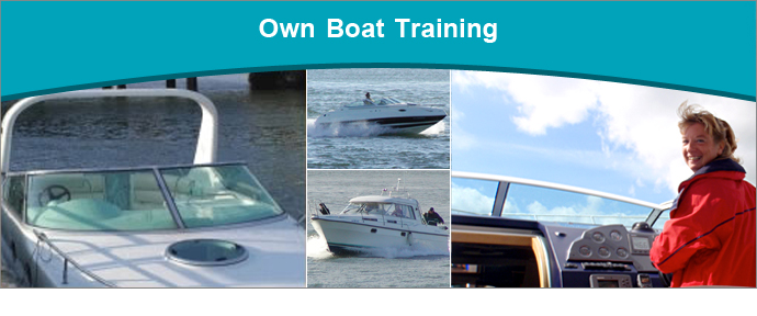Own boat powerboat training from Saltwater RYA Powerboat Training Centre, based in Christchurch, Dorset